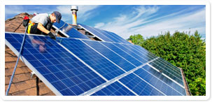 Solar panels renewable energy ground and air source heat for Kansas solar installers